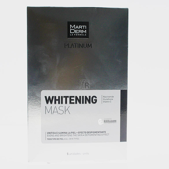 Martiderm Whitening Mask 25ml 5 Unidades