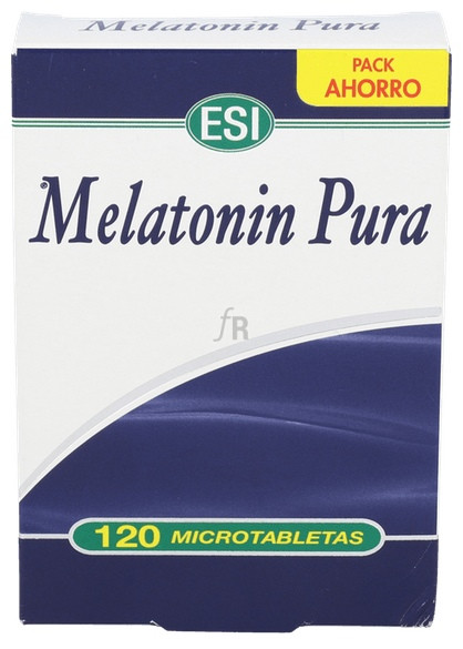 Melatonin Pura 1 Mg 120 Tabletas ESI