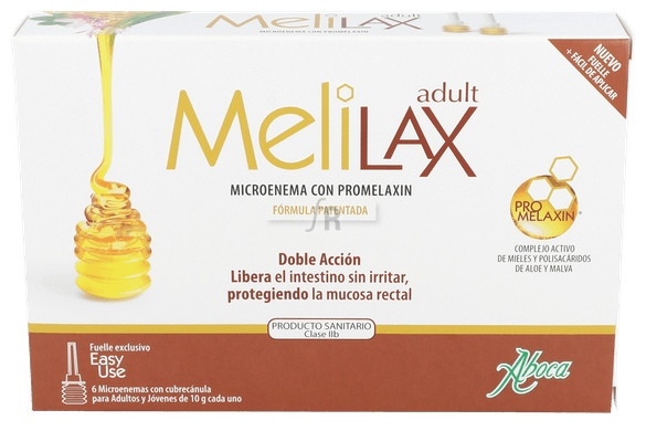 Melilax 6 Microenemas 10 Gr - Aboca