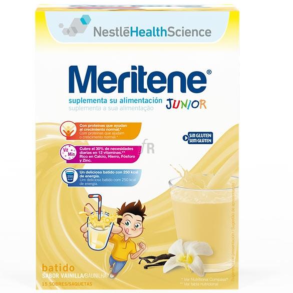 Meritene Junior Sabor Vainilla 15 Sobres - Nestlé