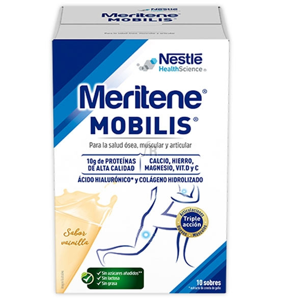 Meritene Mobilis 10 Sobres Vainilla - Farmacia Ribera