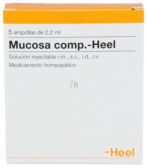 Mucosa compositum Heel 5 ampollas 2,2 ml