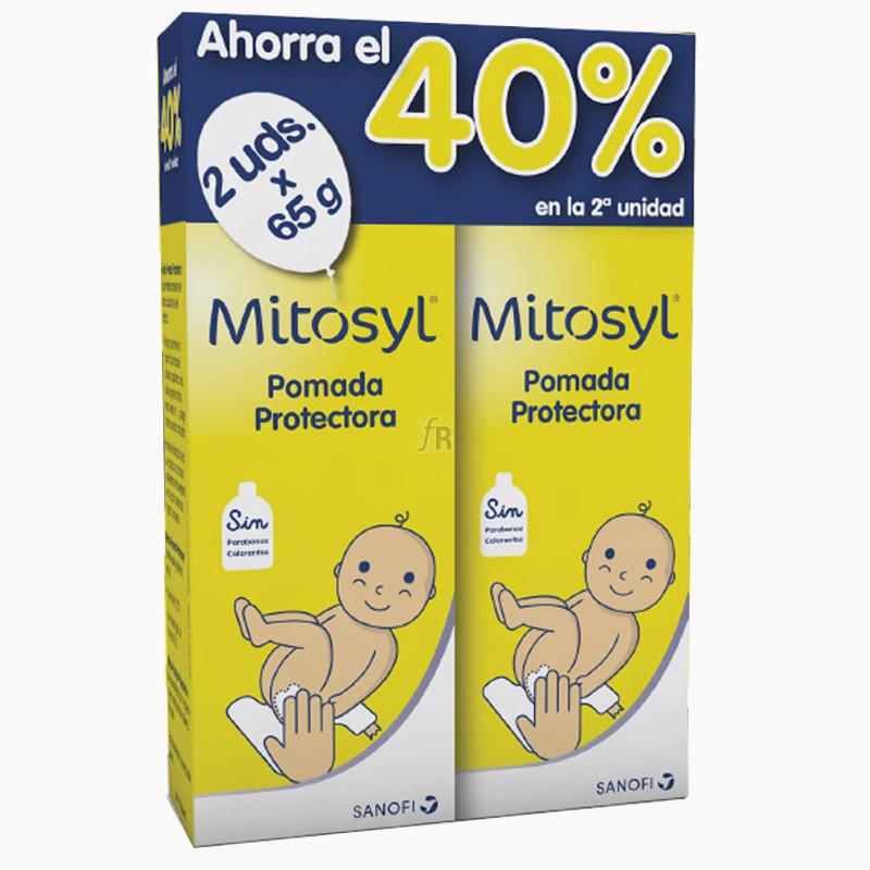 Mitosyl Duplo Pomada Protectora 2X65 Gr