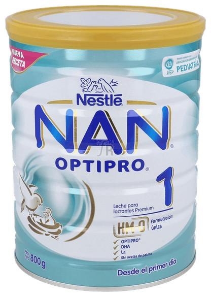 Nan 1 Leche Lactantes 800 G - Nestle