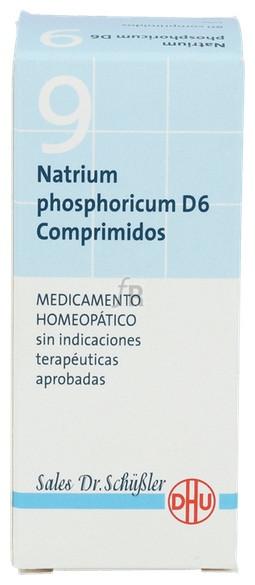 Natrium Phosphoricum Nº9 D6 80 Comprimidos Dhu