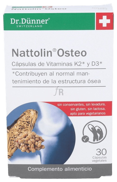 Nattolin Osteo 30 Cap. Dr.Dunner - Salus