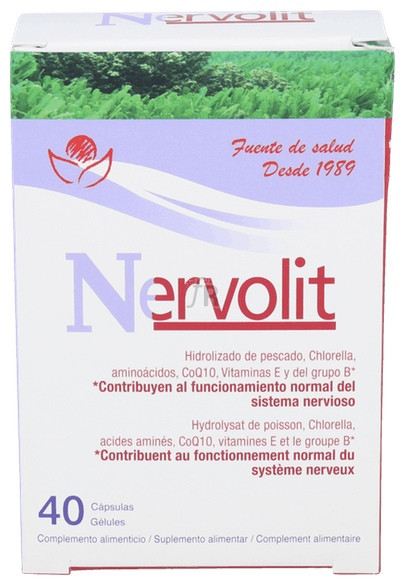 Nervolit 40 Cápsulas Bioserum