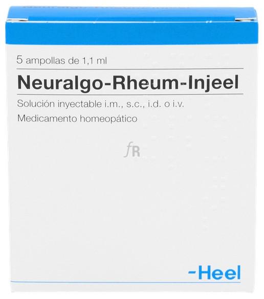 Neuralgo-Rheum-Injeel 5 ampollas 1,1 ml