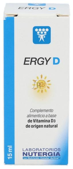 Nutergia Ergy D Gotas 15 Ml - Farmacia Ribera