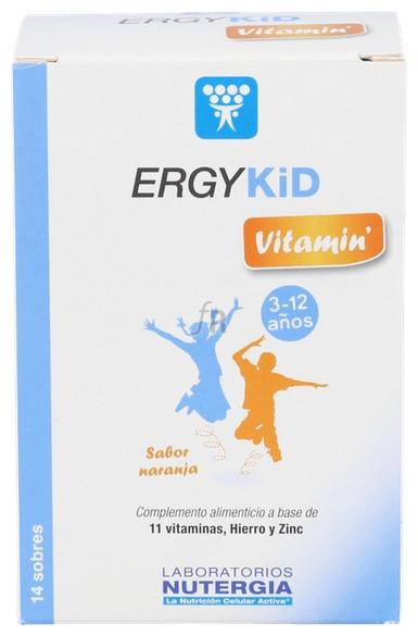 Ergykid Vitamin 14 Sobres Nutergia - Nutergia