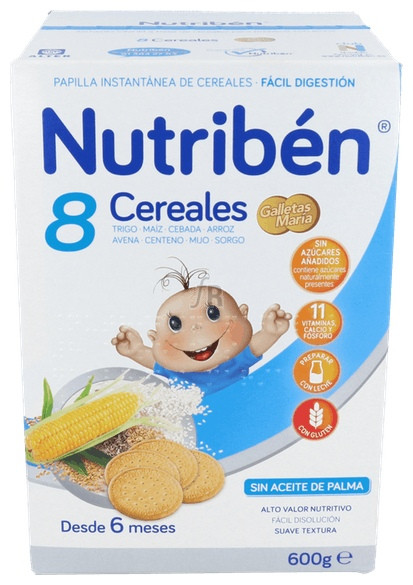 Nutriben 8 Cereales Galletas Maria - Varios