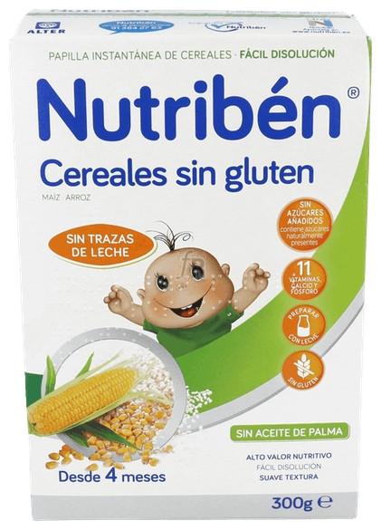 Nutriben Cereales S Gluten 300 G  Nutriben Cerea - Alter Fcia