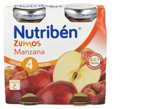 Nutriben Zumo Manzana 130 Ml 2 U