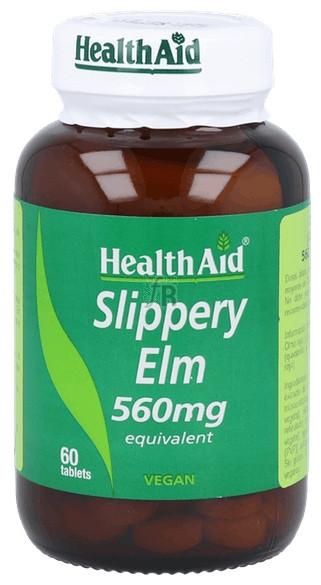 Olmo rojo (Ulmus rubra) 560 mg 60 Comprimidos - Health Aid