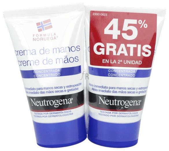 Pack Duplo Neutrogena Crema De Manos Conc. 50Ml