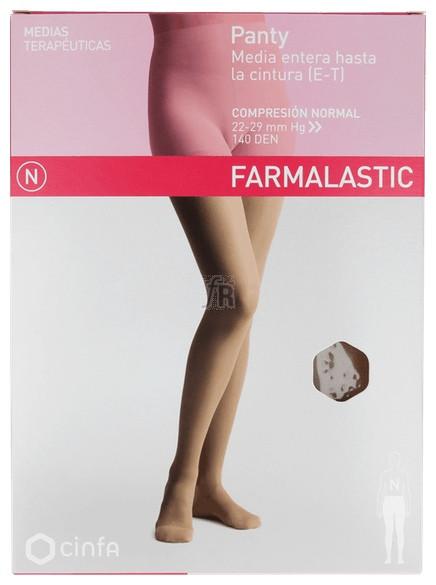 Panty Comp Normal 140 Den Farmalastic Beige T- P - Cinfa