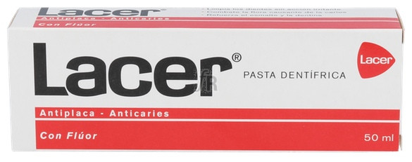Pasta Dental Lacer 50 Ml. - Lacer