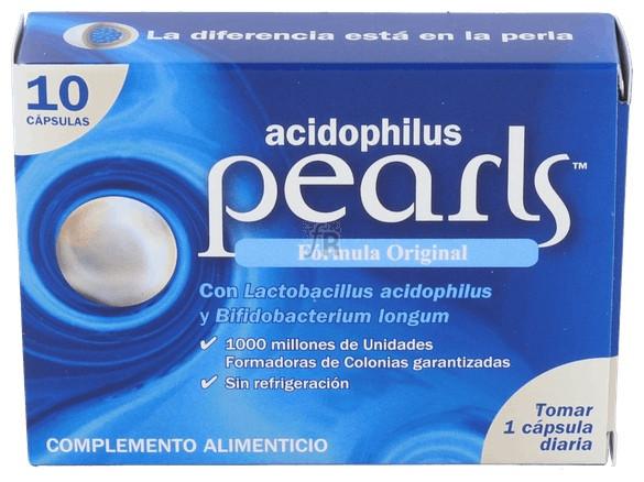 Pearls Acidophilus 10 Cap.  - Varios