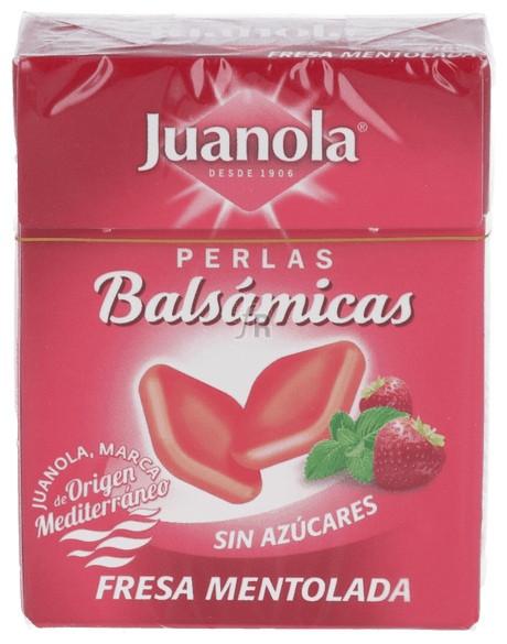 Perlas Juanola Fresa Mentolada 25 G