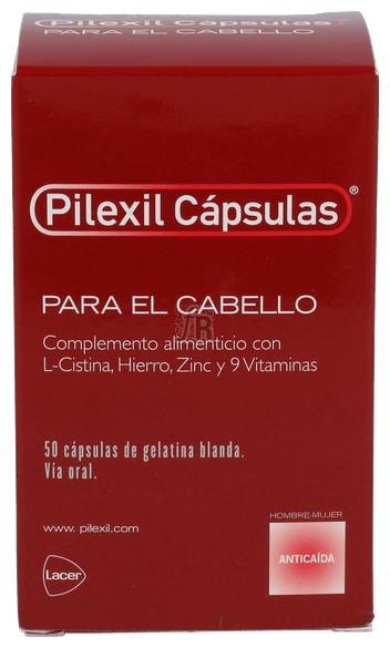 Pilexil Complemento Nutricional 50 Cápsulas
