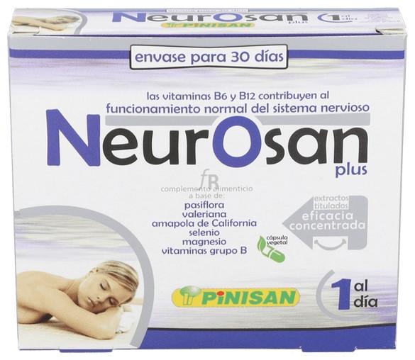 Pinisan Neurosan Plus, 30 Cápsulas. - Farmacia Ribera