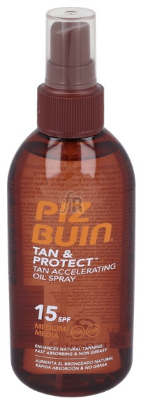 Piz Buin Fps - 15 Proteccion Media Aceite En Spr