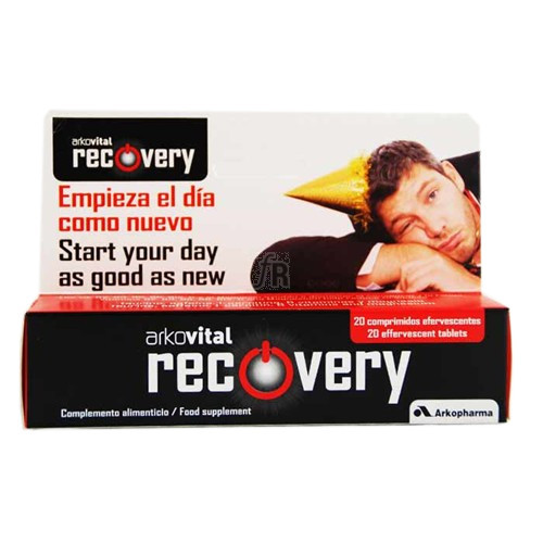 Arkovital Recovery 20 Comprimidos