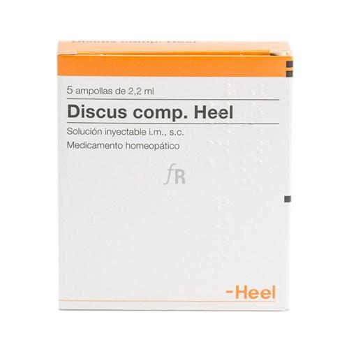 Discus compositum Heel 5 ampollas 2,2 ml