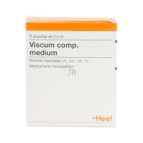 Viscum compositum medium 5 ampollas 2,2 ml