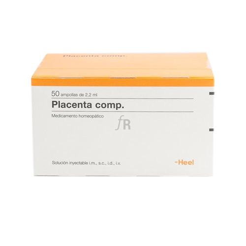 Placenta compositum 50 ampollas 2,2 ml