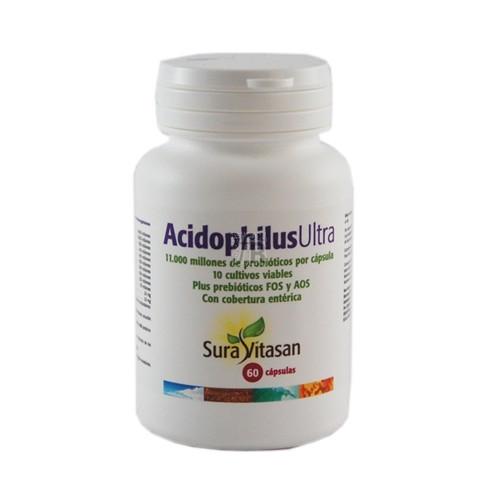 Acidophilus Ultra 60 Cápsulas Suravitasan