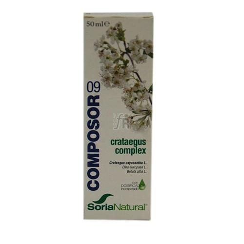 Soria Natural Composor 9 Crataegus Complex Gotas 50 Ml