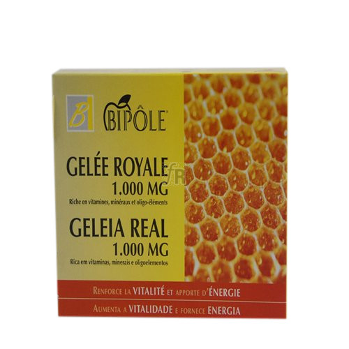Jalea Real 1000Mg Bipole 20 Ampollas Intersa