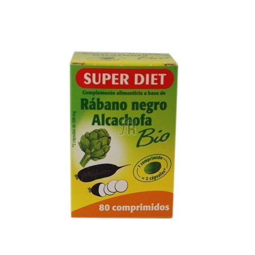 Rabano Negro +Alcachofa 80 Comprimidos Super Die