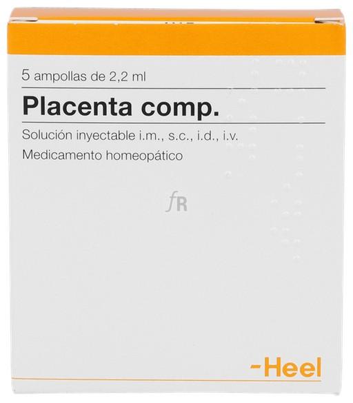 Placenta compositum 5 ampollas 2,2 ml