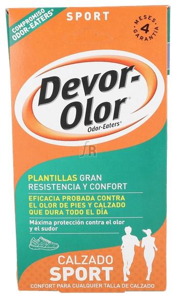 Plantillas Devor Olor Zapatillas