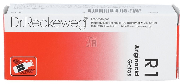 R-1 Anginacid Gotas 50 Ml Dr. Reckeweg