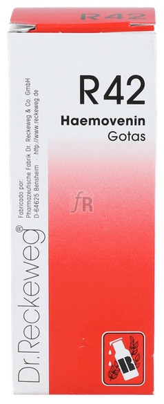 R-42 Haemovenin Gotas 50 Ml. Dr. Reckeweg