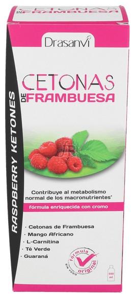Raspberry Ketones (Cetonas Frambuesa) Liquido 500M - Drasanvi