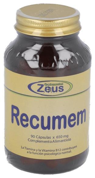 Recuer-Dá 90 Cápsulas 650 Mg. - Zeus