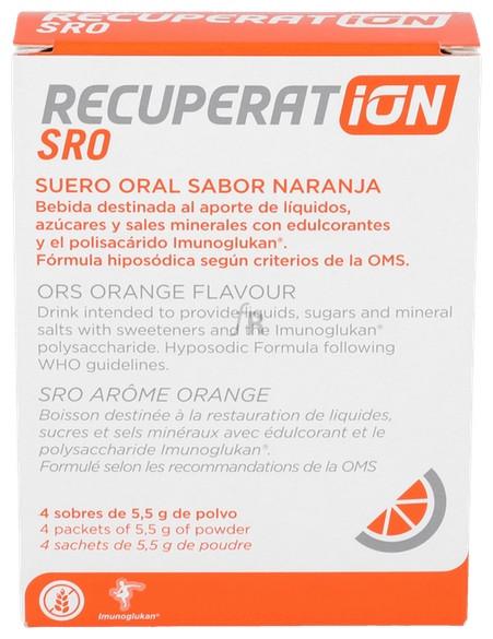 Recuperation 4 Sobres Naranja ( 800 Ml)