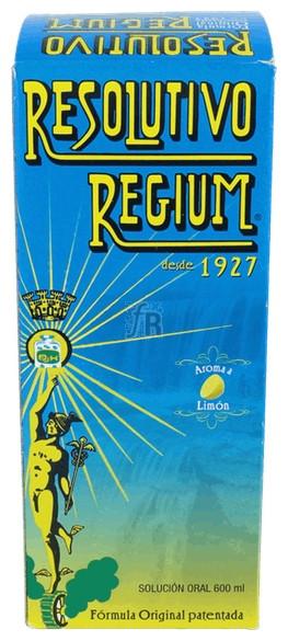 Resolutivo Regium Limon 600 Ml