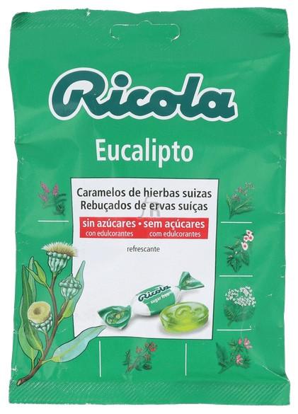 Ricola Bolsa 70 Gr Eucalipto - Diafarm