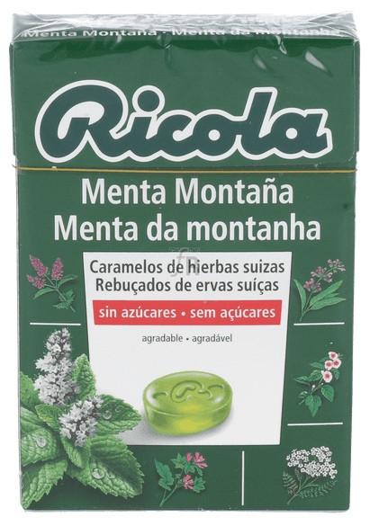 Ricola Caramelo Menta Montaña S/Az 50 Gr - Diafarm