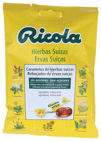 Ricola Caramelos Con Azucar 70Gr Hierbas Suizas - Diafarm