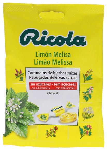 Ricola Caramelos Con Azucar Limon-Melisa 70Gr.
