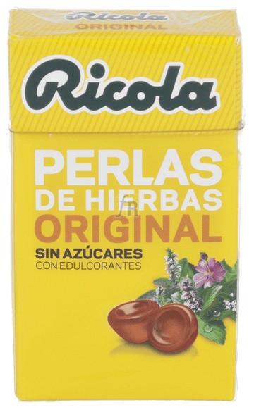Ricola Perlas Sin Azúcar Hierbas Suizas 25 gr.