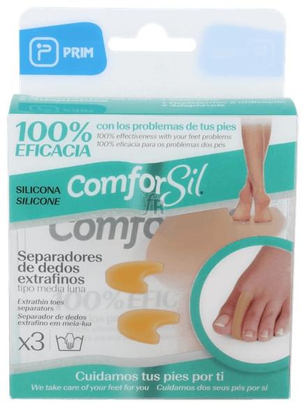 Separadedos De Silicona Comforsil Extrafino Talla Grande 2 Unid - Farmacia Ribera