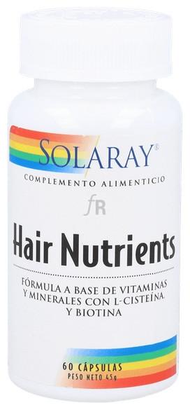 Hair Nutriens 60 Capsulas Solaray