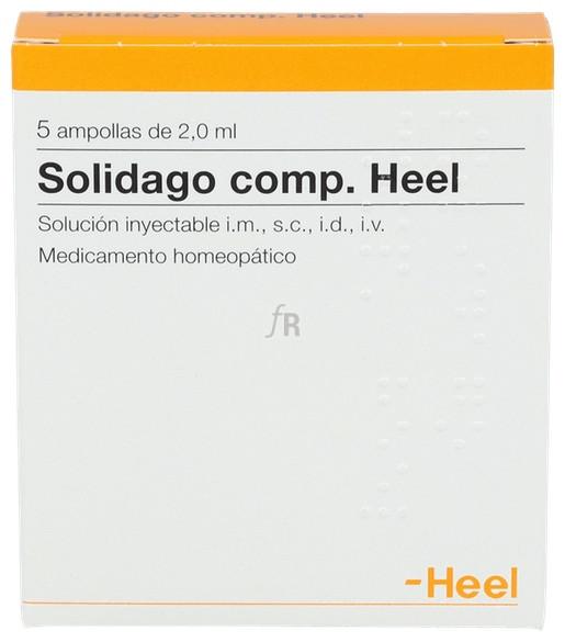 Solidago compositum Heel 5 ampollas 2,0 ml